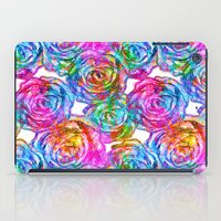 roses iPad Cases featuring Roses by Aloke Design