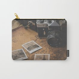 TRAVEL AROUND THE WORLD Carry-All Pouch