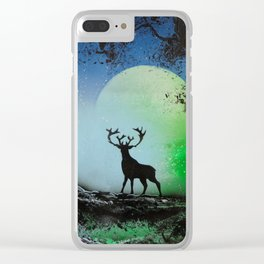 The Deer King Clear iPhone Case