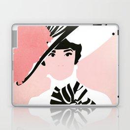 Audrey Hepburn Laptop & iPad Skin