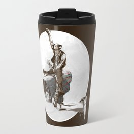 Media Rodeo: Big Brother is watching you Travel Mug