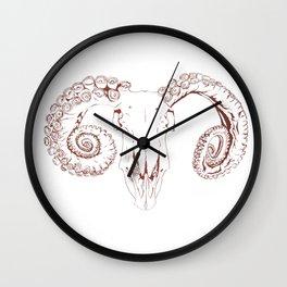 Tentacle Horn Wall Clock