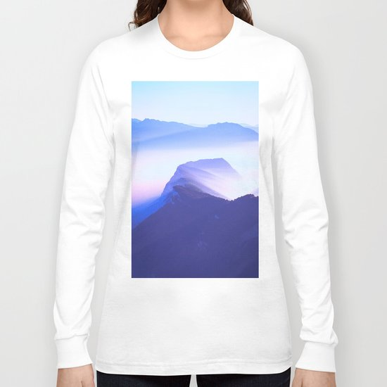 French mountains Long Sleeve T-shirt
