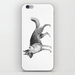 German shepherd - ink iPhone Skin