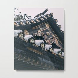 Snowy Nikko Metal Print