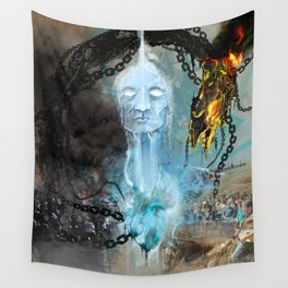 Water Is Life Wall Tapestry