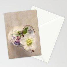 January Flower Stationery Cards