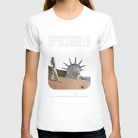 planet of the apes T-shirts featuring Spaceballs: Planet of the Apes by Preston Porter