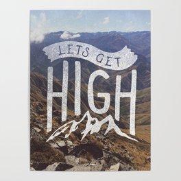 Lets Get High Poster