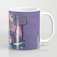 van Mugs featuring Van by manuvila