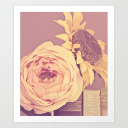 floral beauty no. 4 Art Print