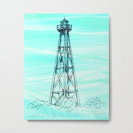 Sanibel Lighthouse Metal Print