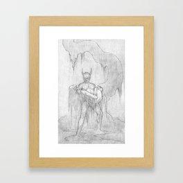 Speak of the Devil Framed Art Print