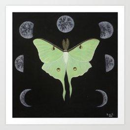 Cycles of Luna Art Print