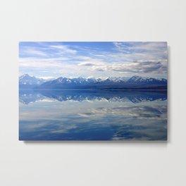 Lake Pukaki Scenic View Metal Print