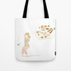 All about food Tote Bag
