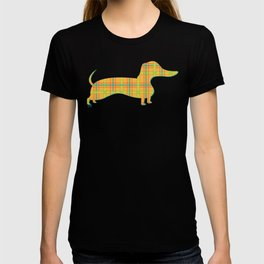Autumn Jamboree Plaid Pumpkin T-shirt