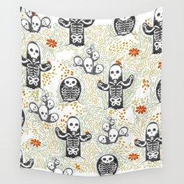 Skeleton Cacti Wall Tapestry
