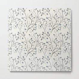 Contrast leaf art Metal Print