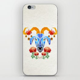 chinese goat iPhone Skin