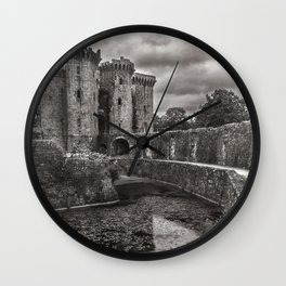The Castle Moat Wall Clock