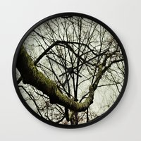 moss Wall Clocks featuring Moss by Riley Gallagher