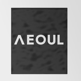 Seoul [Hangul] Throw Blanket