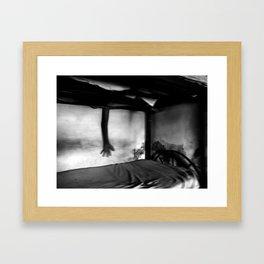 Alucinaciones Nocturnas Framed Art Print