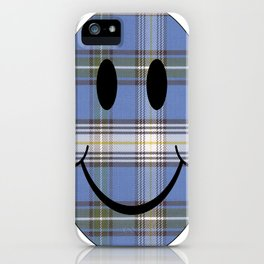 Happy to be Scottish iPhone Case
