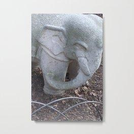 Cement Tusker Metal Print