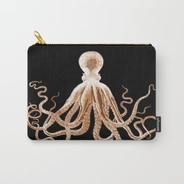 Octopus sea nautical beach coastal Carry-All Pouch
