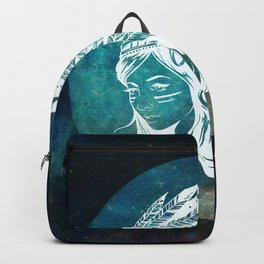 Moon Child Goddess Bohemian Girl Backpack