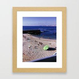 La Jolla Beach Framed Art Print