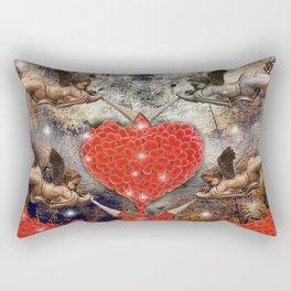 angels love Rectangular Pillow