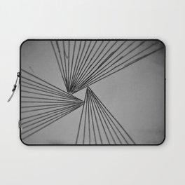 Gray Explicit Focused Love Laptop Sleeve