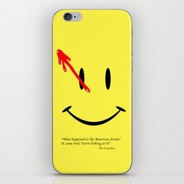 The Comedian iPhone Skin