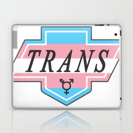 Identity Stamp: Trans Laptop & iPad Skin