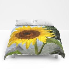 une seule fleur Comforters