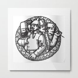FRANZ FERDINAND IYENG 11 Metal Print