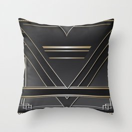 Art deco design IV Throw Pillow