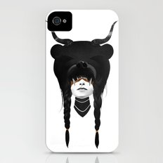 Bear Warrior iPhone (4, 4s) Slim Case