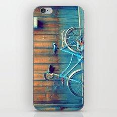 A Polka Dotted Bike iPhone & iPod Skin