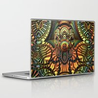 totem Laptop & iPad Skins featuring Totem by Lyle Hatch
