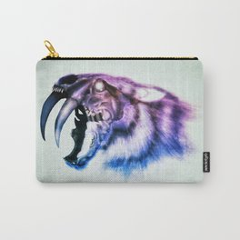 Sabretooth Tiger Skull // FrankenKitty Carry-All Pouch