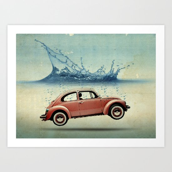 Drop in the Ocean Art Print
