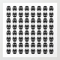 66 Troopers Art Print