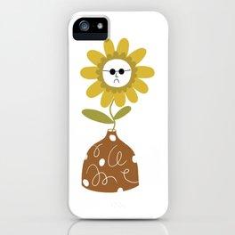 Sunflower Vase iPhone Case