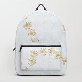Daisy chains and daisy hearts Backpack