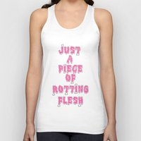 in the flesh Tank Tops featuring flesh! by gasponce
