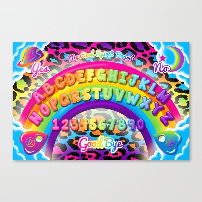 1997 Neon Rainbow Spirit Board Leinwanddruck